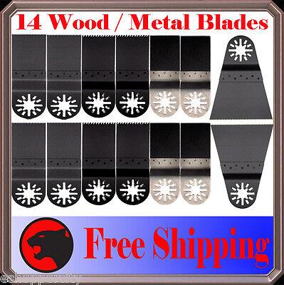14 Combo Oscillating Multi Tool Saw For Blade Ridgid Jobmax Ryobi Jobplus Bosch