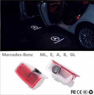 2x Willkommen Projektor Cree LED Einstiegsbeleuchtung für Mercedes Benz Türlicht
