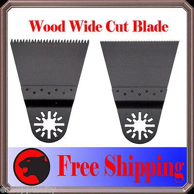 2 Flush Japan Cut Oscillating Multitool Saw Blade For Bosch Multi-x Ridgid Ryobi