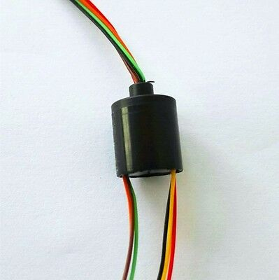 12.5mm 300rpm 6 Wires 2a Mini Capsule Slip Ring Ac240v For Monitor Robotic 6u