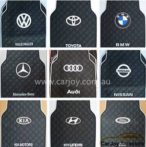 Luxury Latex Rubber Car Floor Mats with Logo Print 12 car Logo Campbelltown Campbelltown Area Preview