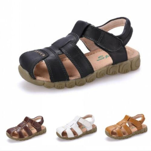 Kid/'s Boy/'s Girl/'s Hiking Sport Sandals Close-Toe Casual Beach Fisherman Shoes
