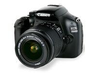 Canon EOS 1100D Digital SLR Camera + Tripod (With 18-55 mm f/3.5-5.6 DC III Lens Kit)