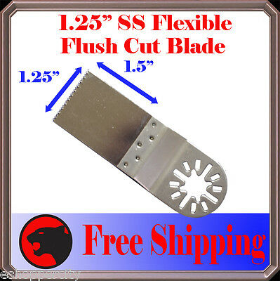 Ss Oscillating Multi Tool Saw Blade For Fein Multimaster Bosch Dremel Craftsman