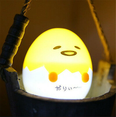 Cartoon LED Gudetama Lazy Egg Mini Lamp Kid Small Night Light Home Decorion New