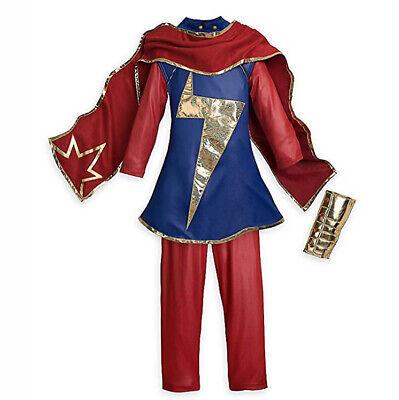 Girls Super Hero Costume (Disney Authentic Ms. Marvel Super Hero Costume for Girls Size 9/10)