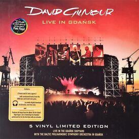 David Gilmour Live In Gdańsk Vinyl 5 LP Box Set + Booklet & Poster NEW/SEALED