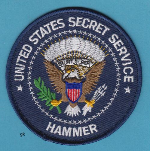 US SECRET SERVICE HAMMER MEDICAL RESPONSE TEAM POLICE SHOULDER  PATCH