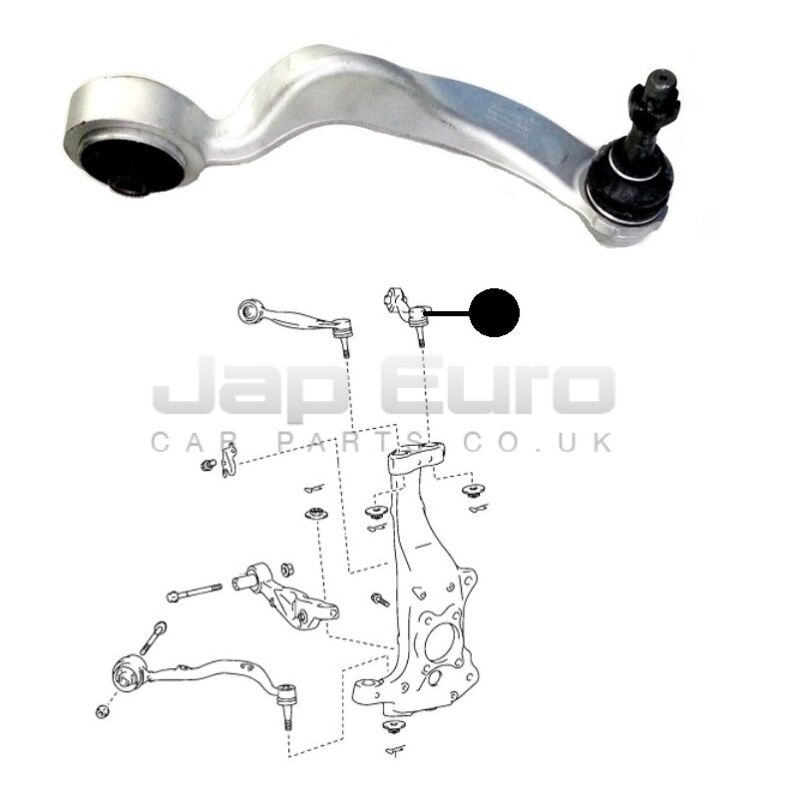 Lexus LS460 USF40 06-10 FRONT RIGHT O/S UPPER TOP CONTROL TRACK ROD ARM