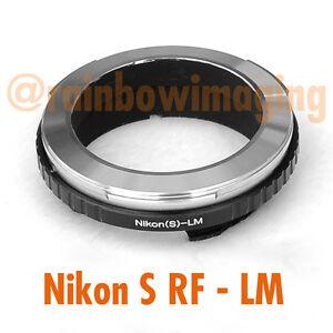 Contax-RF-Nikon-S-Ranger-Lens-to-Leica-M-Adapter-M6-M8-M7-M9-Ricoh-GXR-Mount-A12