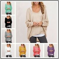 Fashion Women Pure Color Spring Casual Loose Long Sleeve Blouse Tops Shirts - unbranded - ebay.co.uk