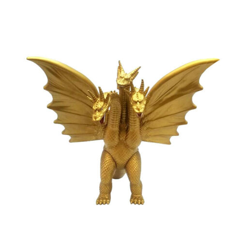 "Godzilla King of the Monster Ghidorah Gidora 3 Head Gold Dragon 7"" Action Figure"