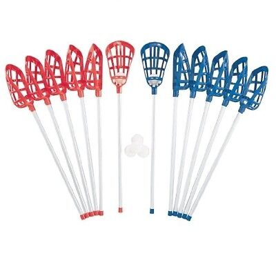 "Champion Sports Soft Lacrosse Set - LAXSR Lacrosse Set 46"" x 12.63"" x 8"" NEW"