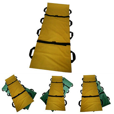 Medical First Aid Yes Folding Home Multifunctional Soft Stretcher With 8 Handle