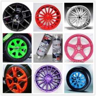 Removable Rubber Plasti Dip Wheel Rim Paint Spray Color Coating