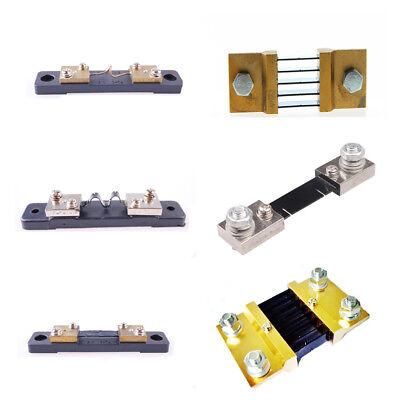 Fl-2 Dc 75mv Current Shunt Resistor For 50100150200 Amp Ammeter Panel Meter