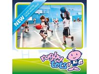 Rugbytots for 2 to 5 year olds - Winter term classes now open for booking