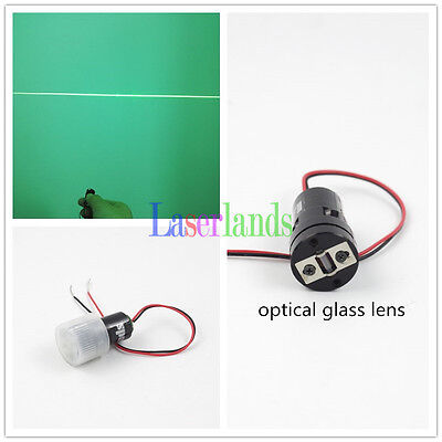 10mw 532nm Green Line Diode Laser Module For Laser Level W Glass Lens 3vdc Apc
