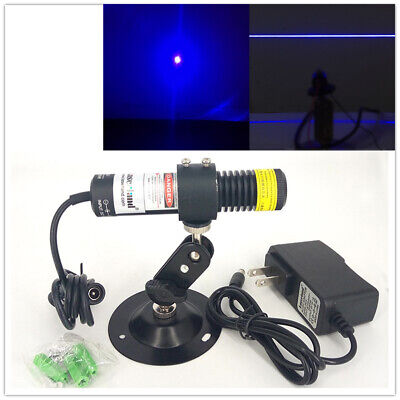 450nm 80mw Blue Laser Diode Module Line Dot For Cutting Machines