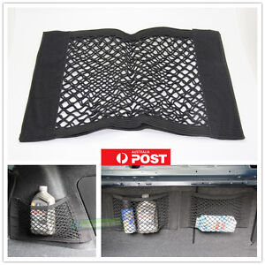 universal car rear back seat storage cargo organizer magic mesh net pouch pocket ebay. Black Bedroom Furniture Sets. Home Design Ideas