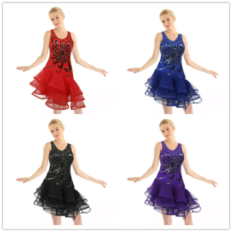 Dress ONLY All That Jazz Dance Costume Tango Salsa Child Large