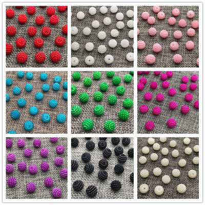 Wholesale 10mm 12mm Size Round Pearl Plastic Beads Lot Jewelry Making Craft Pick