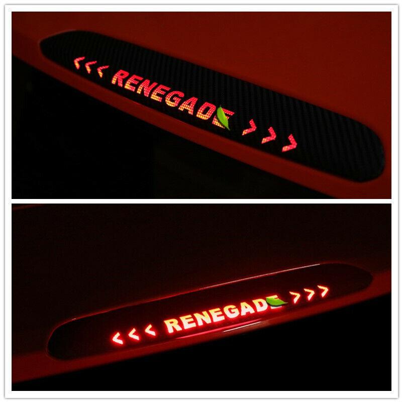 For Jeep Renegade Rear Break Lamp Film Light Sticker Car Styling Accessories