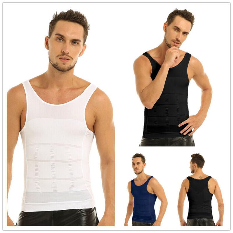 Mens Compression Base Layer Skins Gym T-Shirts Tank Top Vest Leggings Shorts