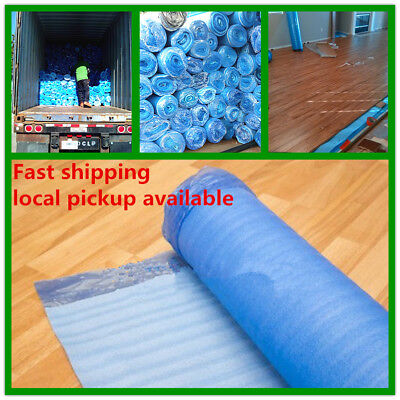 Laminate Vinyl Flooring UNDERLAYMENT 2mm thick 200 sq ft /Roll Padding Blue -