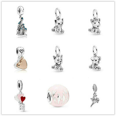 2019 new 1pcs European Charm Beads Fit 925 silver Bracelet Necklace chain DIY - European Charm Bead