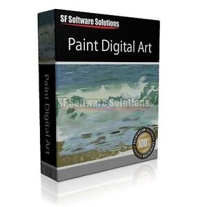 Professional Digital Art Painting Painter Software Watercolour Charcoal More Ebay