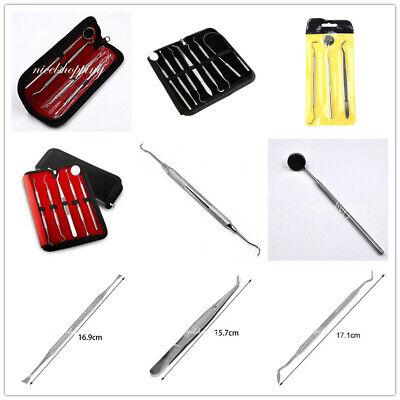 Dental Kit Stainless Steel Dentist Tools Hygiene Teeth Oral Clean Tooth Choose