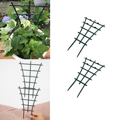4Pcs Plant Support Rack Garden Plastic Trellis Flower Vines Climbing Stand Frame
