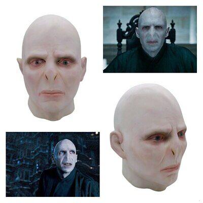 Voldemort Halloween Mask (Slytherin Death Eaters Boss Lord Voldemort Cosplay Masks Helmet Halloween)