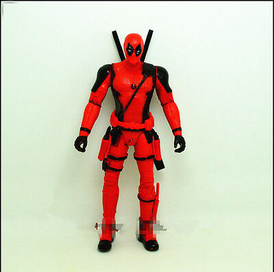 X-Men Deadpool Wade Wilson 7 Inches PVC Action Figure Toy - Deadpool Toy