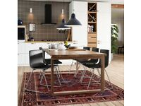 MORBYLANGA, Table 220x100cm, oak veneer brown stained, IKEA OCP Aberdeen WAS £499 #BARGAINCORNER