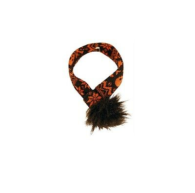 Halloween Scarf  for Dogs - XS - L - Easy to wear and stays - Halloween Scarf For Dogs