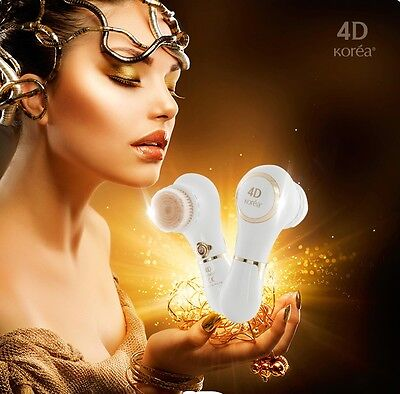 [K-Beauty] Sonic 4D Motion Face Cleanser Brush Vibration Cleansing Machine Korea