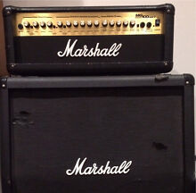 PRICE DROP Marshall MG100HDFX Amplifier + MG 412 Cab Guitar Amp Charlestown Lake Macquarie Area Preview