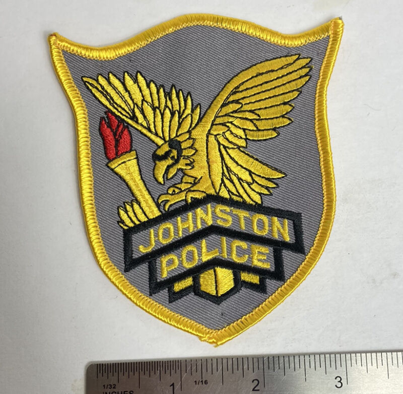 JOHNSTON POLICE RI POLICE PATCH