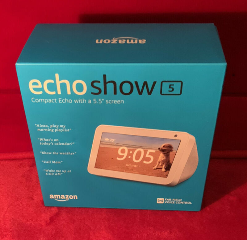 A New Amazon Echo Show 5