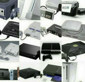 WANTED: Nintendo & SEGA Video Games and Console