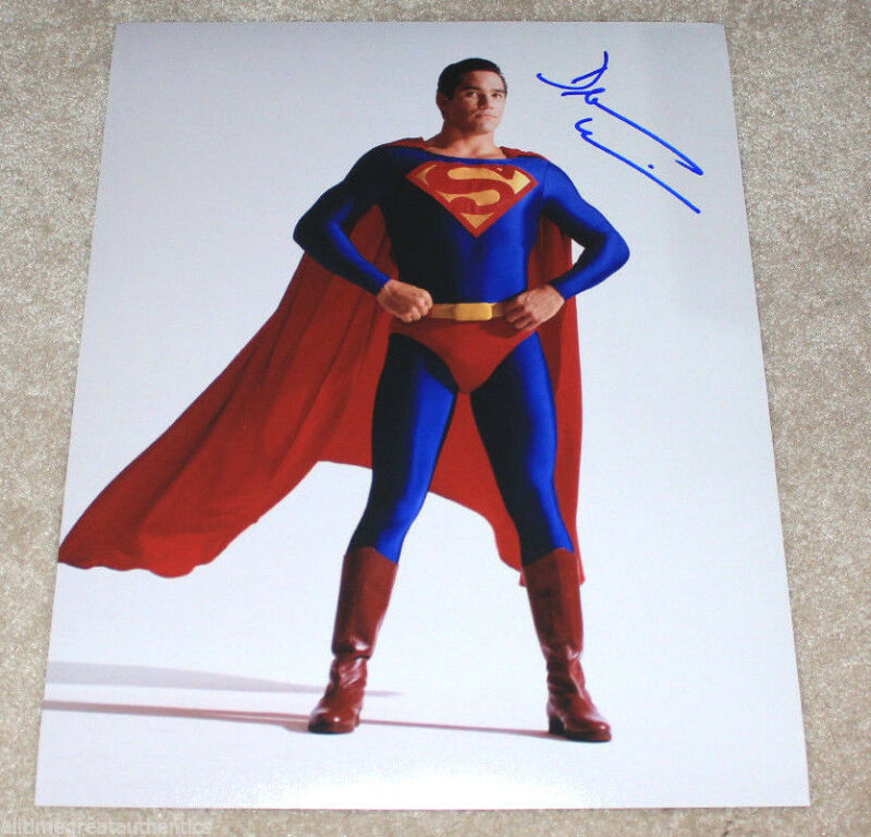 DEAN CAIN SIGNED AUTHENTIC 'SUPERMAN LOIS AND CLARK' 11X14 PHOTO w/COA AUTOGRAPH