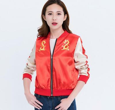 Wreck It Ralph Halloween (Mulan Wreck It Ralph 2 outfit Jacket Coat Women Girl Halloween Cosplay Xmas)