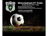 Adult Mens Football Club Holding Trials