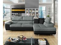 LUXURY SOFA DEB CORNER AVAILABLE IN STOCK BOOK ORDER NOW