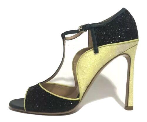 Gianvito Rossi Women Shoes Size 38 New For Mary Katrantzou Sparkle Heels
