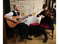 Fiddle, guitar and voice available for wedding music and all occasions