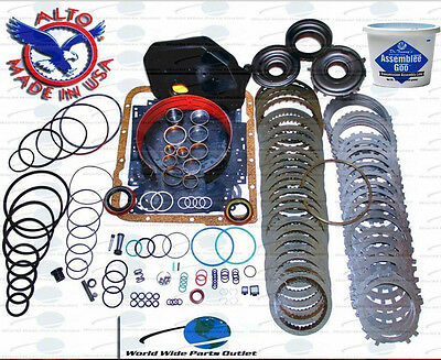 GM 4L60E Transmission Powerpack Rebuild kit 1997 2003 Stage 5 With 3 4 Powerpack