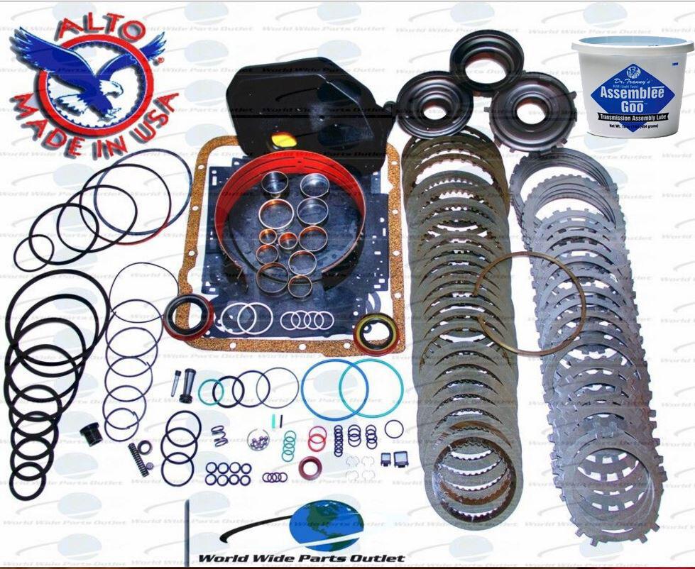 Gm 4l60e transmission powerpack rebuild kit 1997 2003 for Castle honda service